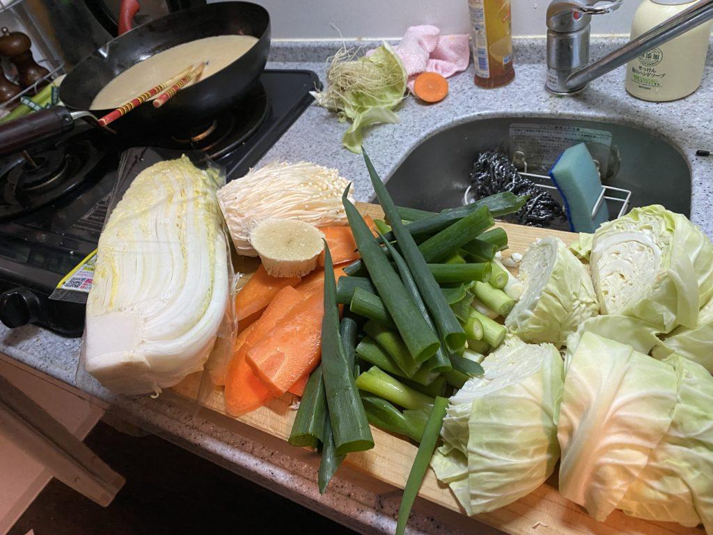 とり野菜みそ11